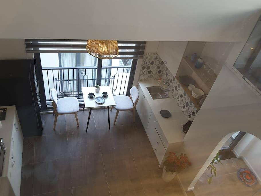 Beautiful design: loft Apartment with pool – Da Nang Dragon Bridge – 5 minutes ride to the beach