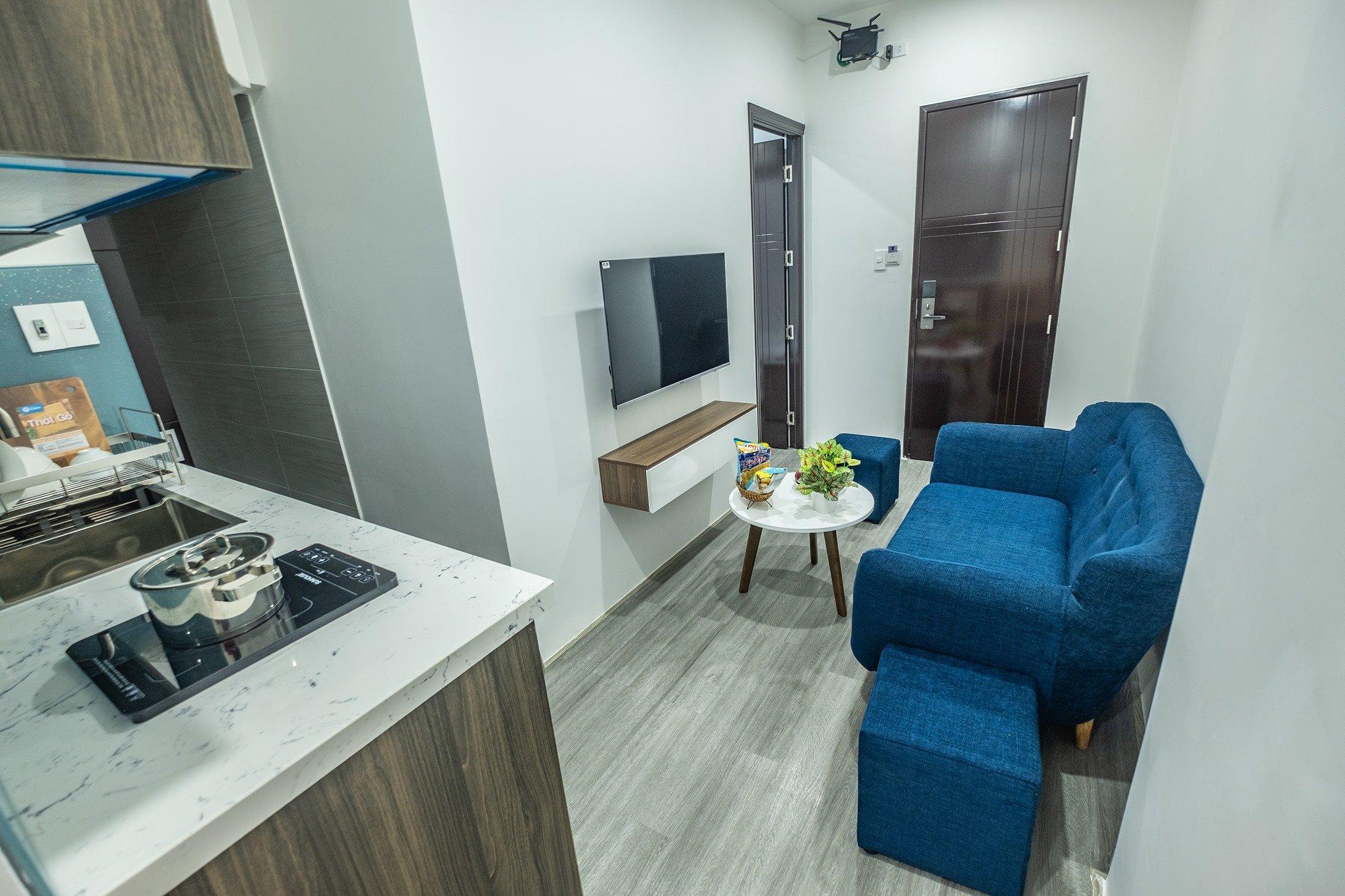 Brand new 1 bedroom apartment for rent Pham Van Dong beach Da Nang