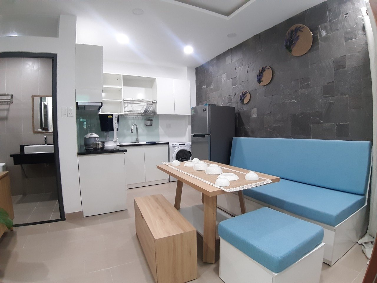 1 BEDROOM APARTMENT FOR RENT IN MY AN DA NANG AREA WITH NICE DECORATION