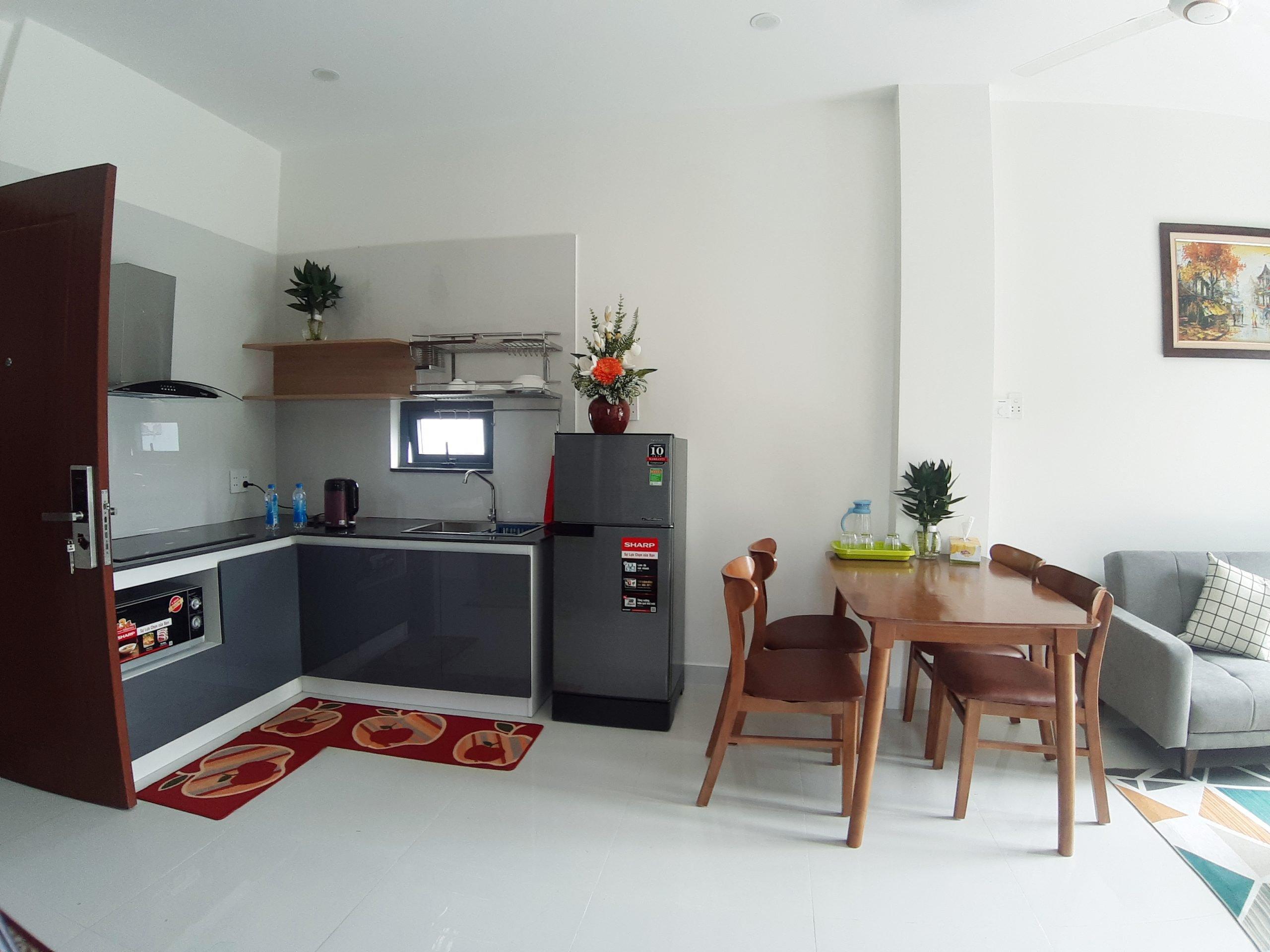 2 bedroom apartment for rent nearby Tran Thi Ly bridge Da Nang
