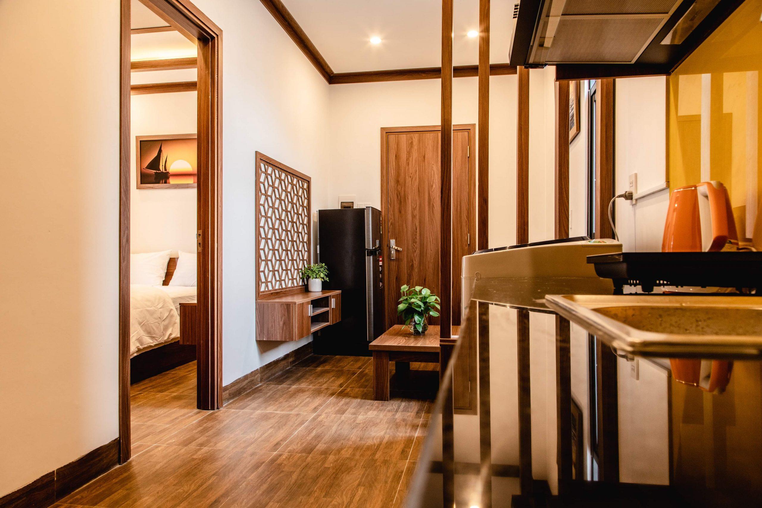 2 bedroom aparment for rent close to My Khe beach Da Nang