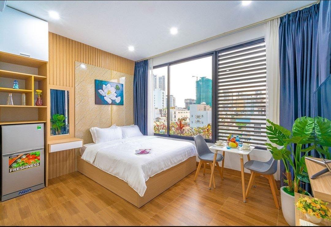 Beautiful studio For Rent Da Nang with balcony