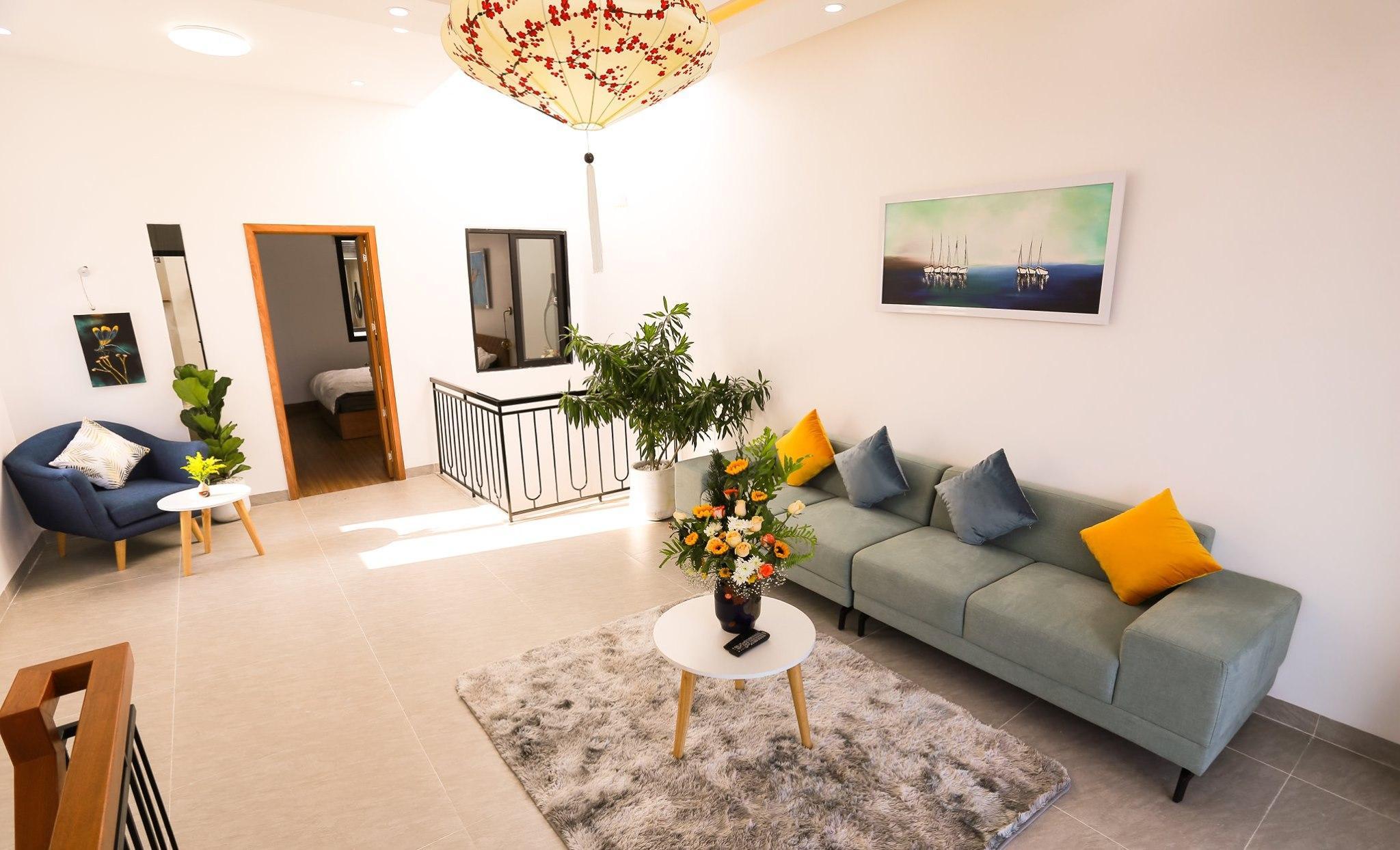 Beautiful 2 Bedrooms House For Rent Da Nang- 1 mins walking to beach