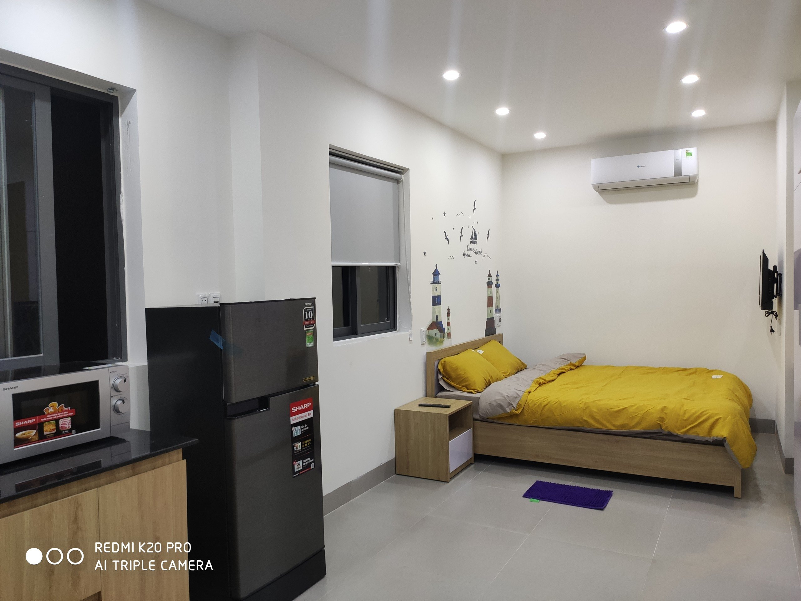 Bright studio For Rent near Dragon Bridge Da Nang