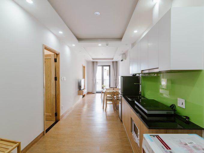 BEO 0153 Spacious 2 bedroom Apartment for rent near Nguyen Van Thoai Street Da nang