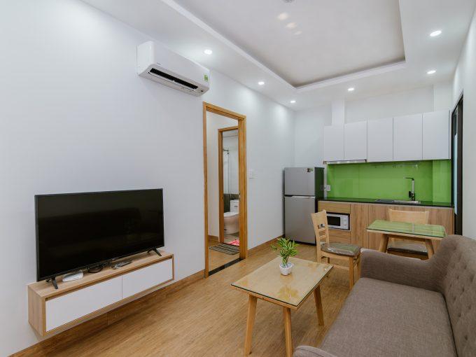 BEO 0307 1 High end 1 bedroom Apartment For Rent near Nguyen Van Thoai Street Da Nang