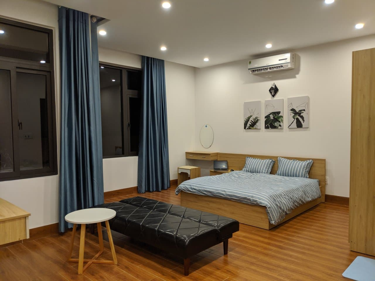 Brand new and spacious studio for rent in Nam Viet A area Da Nang