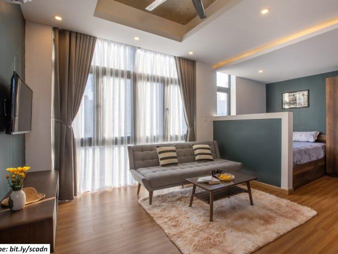 1 10 Stunning Studio For Rent with swimming pool near My Khe beach Da Nang
