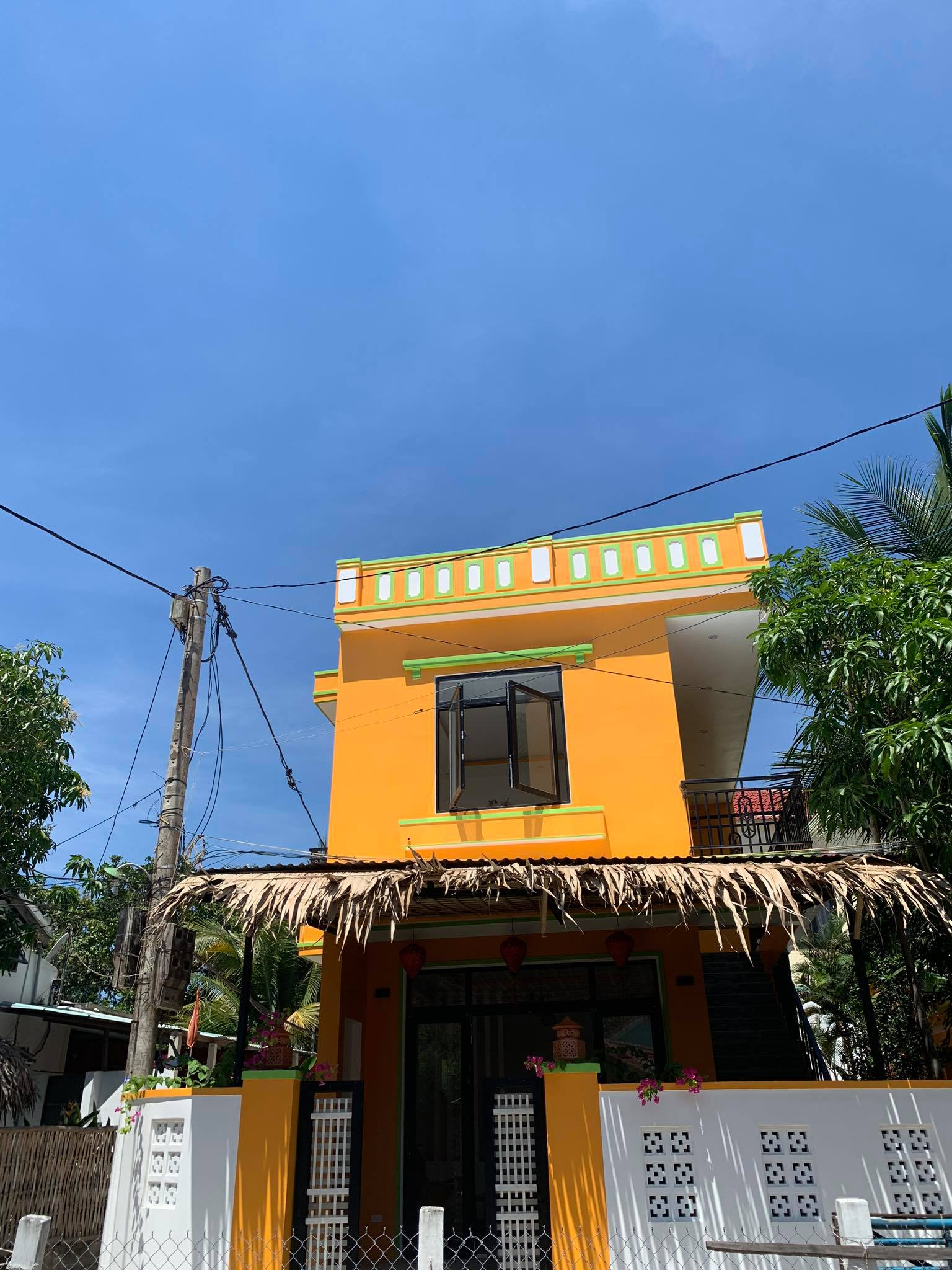 New Awesome Three Bedrooms House For Rent in An Bang Beach Hoi An