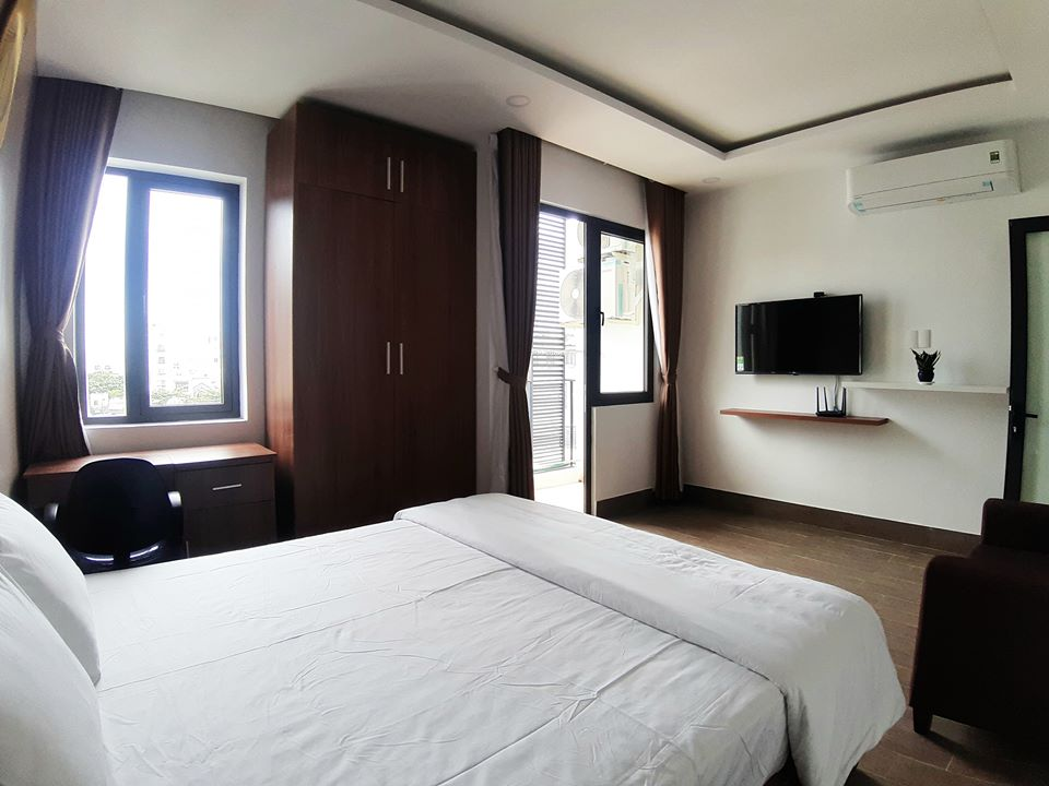 Brand new 1 bedroom Apartment For Rent with balcony near My Khe beach Da Nang