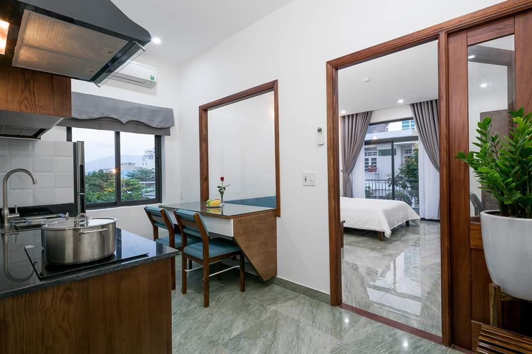 1 Bedroom Apartment For Rent near Son Tra Night Market Da Nang
