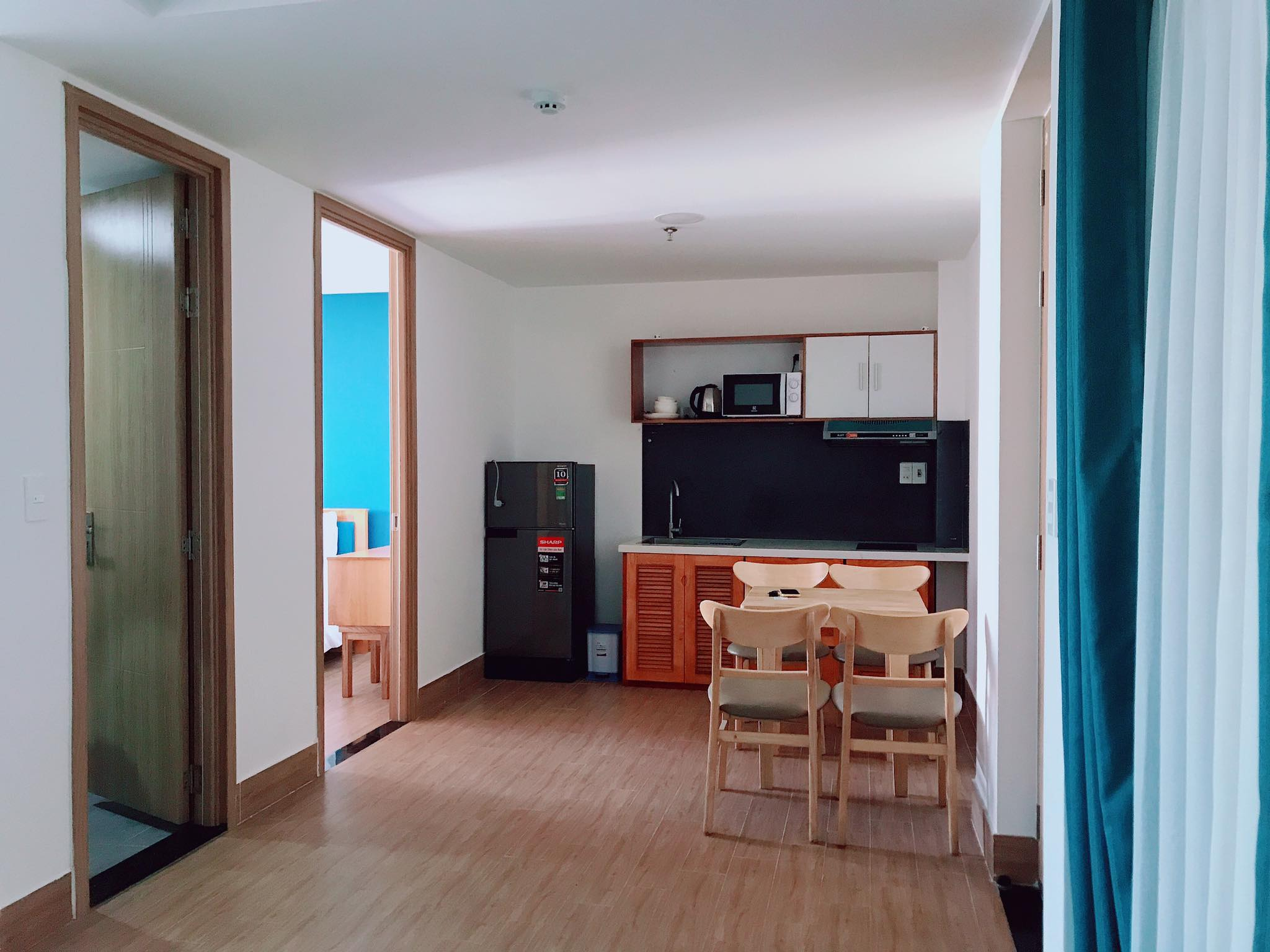 2 bedroom apartment for rent with big balcony near Bac My An Market Da Nang