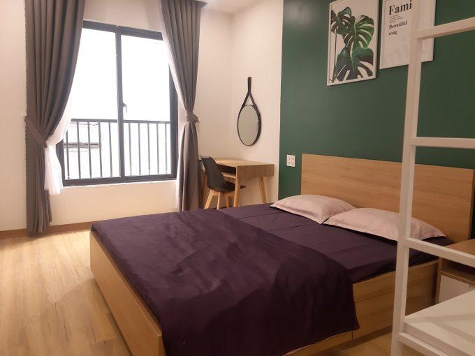 82575630 455819945297915 6831444246508077056 n Lovely 1 Bedroom Apartment For Rent on the high floor near Pham Van Dong beach Da Nang