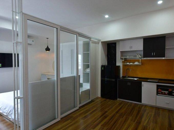 117336042 3280100398722915 8032550179657790811 n Cheap and brand new 1 bedroom Apartment for rent near My Khe beach and Dragon bridge Da Nang