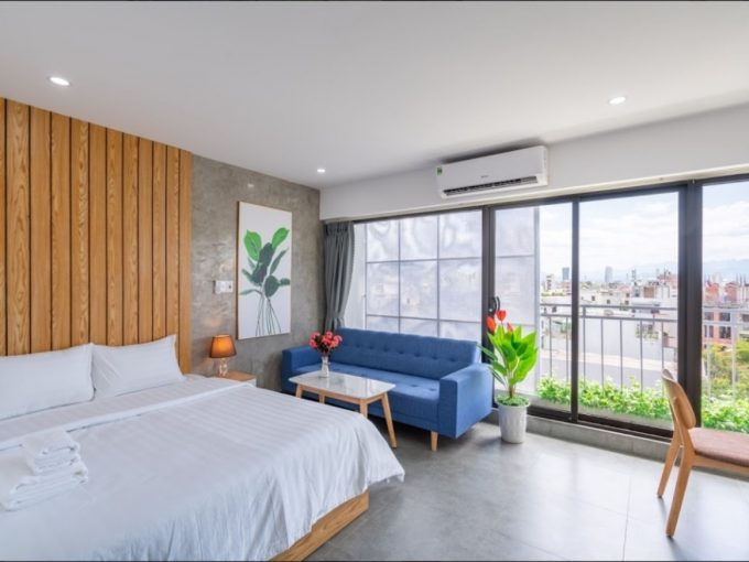 2dc9b65f437ba725fe6a Convenient studio For Rent with balcony and bathtub in Son Tra Da Nang