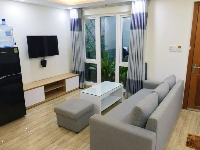 85d0e6084e07b059e916 2 Spacious 1 bedroom apartment for rent in My An Da Nang 50 m2 with big kitchen