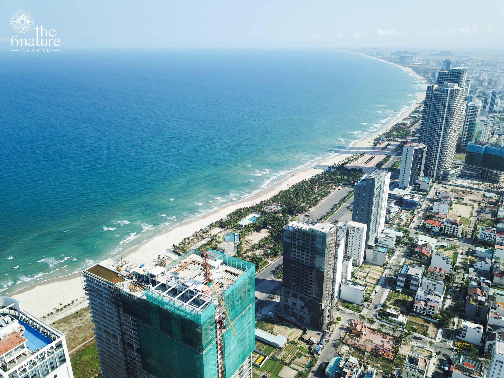 DJI 0072 6Nature - Danang Real Estate - Beachfront luxury condo for sale - Stunning location