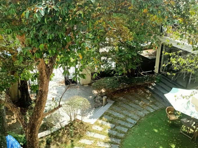 z2452011816734 17436cd151c0ef55127159cf0acf379c Commercial space for rent near My Khe Beach Da Nang - beautiful French architecture -250m2 garden area