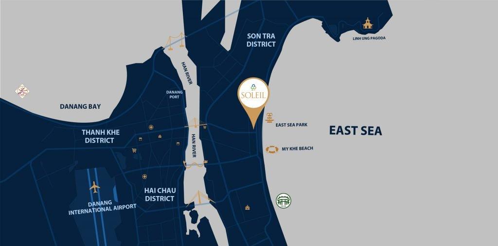 map cover Wyndham Soleil Danang