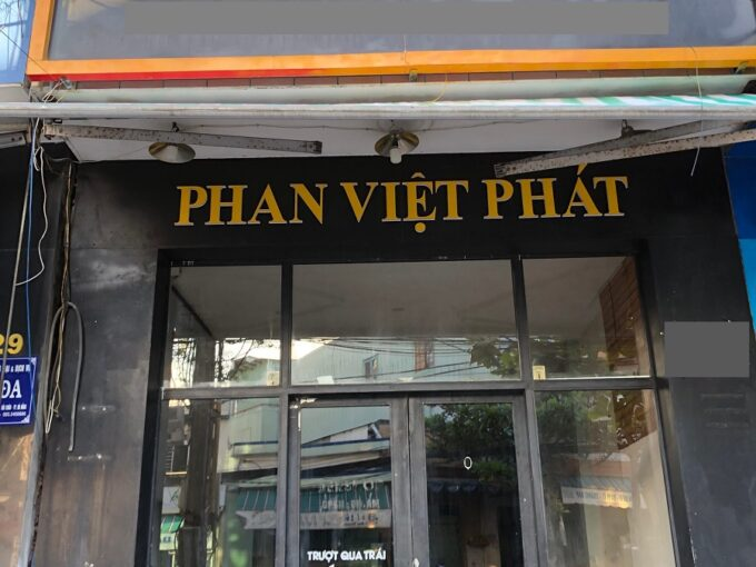 231 nui thanh 0912 270 404 Commercial space for rent on Nui Thanh street