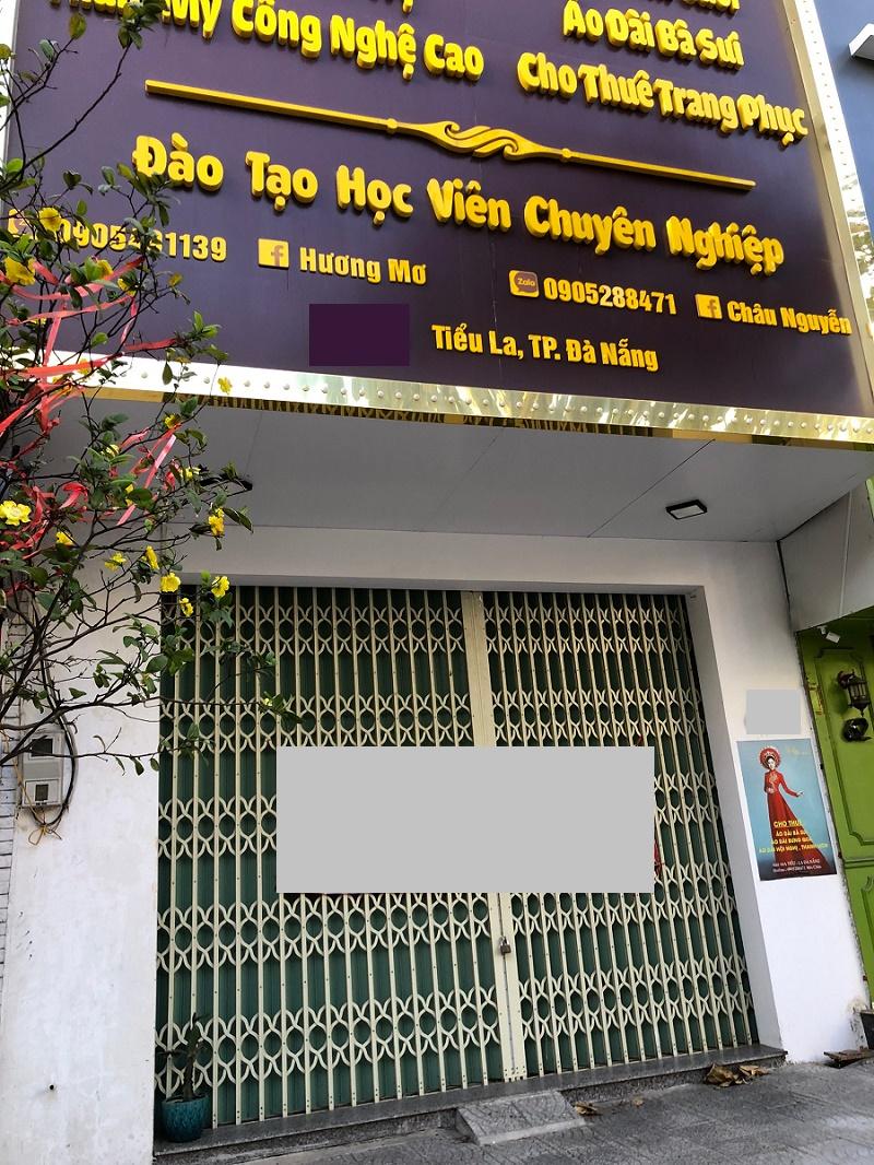 2 floor commercial space in Da Nang city center