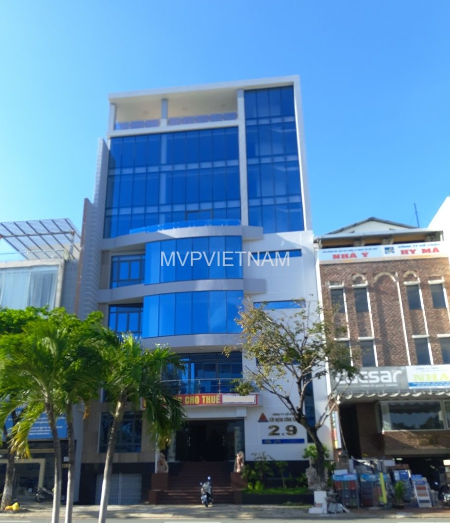 New office for lease in Hai Chau – 210m2/floor