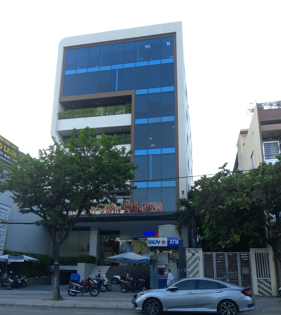 Thanh Quan building-office space for lease in Da Nang city center – Great design building