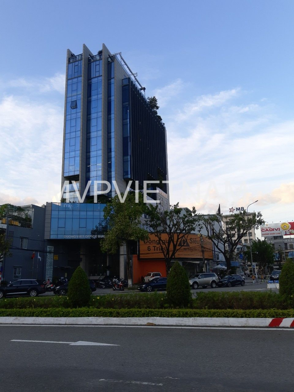 Office for rent in Hai Chau – New building with 12 floors and underground parking